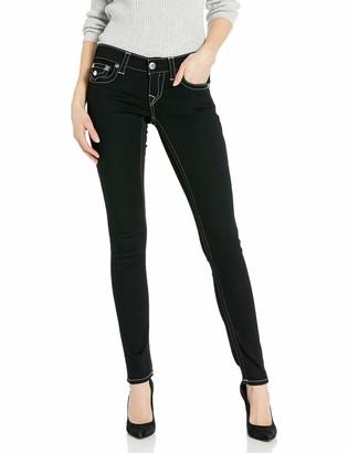 True Religion Women's Stella Low Rise Skinny Leg fit Jean with Back Flap Pockets