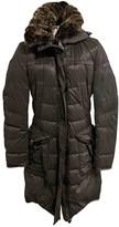 Peuterey Grey Rabbit Jacket for Women