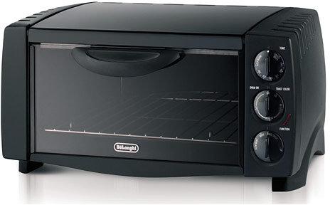 De'Longhi DeLonghi Black Toaster Oven