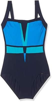Sunflair Women's Color Composition Swimsuit,48D (Size: 52D)
