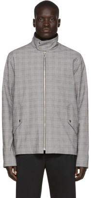 Paul Smith Grey Plaid Harrington Jacket
