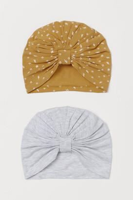 H&M 2-Pack Cotton Turbans
