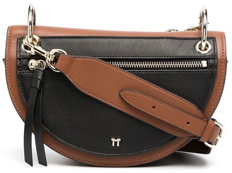 Tila March Annabelle colour-block crossbody bag
