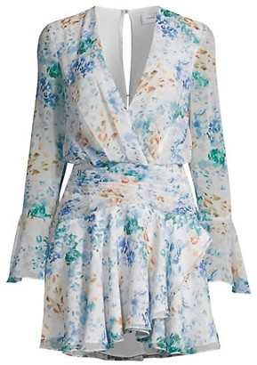 Fame & Partners The Indre Floral Mini Dress