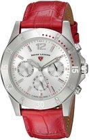 Swiss Legend Women's 16016SM-02-RDS Paradiso Analog Display Swiss Quartz Red Watch