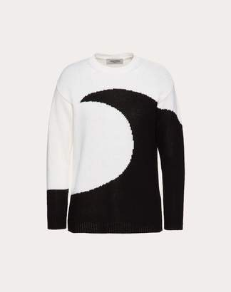 Valentino Cashmere Inlay Jumper Women Ivory XS