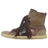 Chloé Brown Leather Trainers