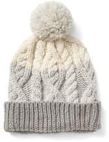 Gap Cable-knit pom beanie