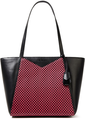 MICHAEL Michael Kors Printed Leather Tote
