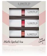 Limited Edition Trio of Matte Lipstick