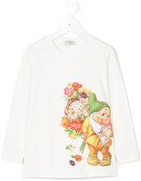 MonnaLisa long sleeve printed T-shirt