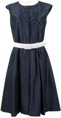 Oscar de la Renta Navy Cotton Dresses