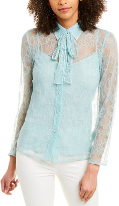 Escada Silk-Lined Blouse
