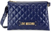 Love Moschino Double Quilted Crossbody