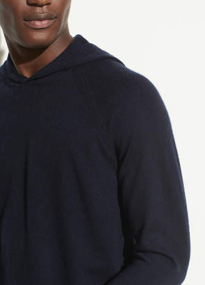 Vince Wool Cashmere Pullover Hoodie