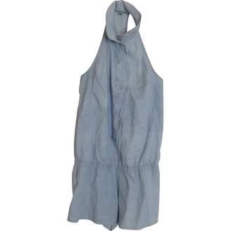 Princesse Tam-Tam Blue Cotton Jumpsuit for Women