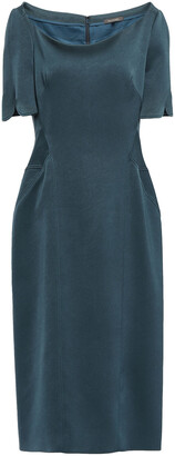 Zac Posen Stretch-crepe Midi Dress