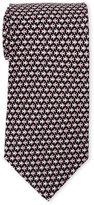 Pierre Cardin School of Fish Silk Tie