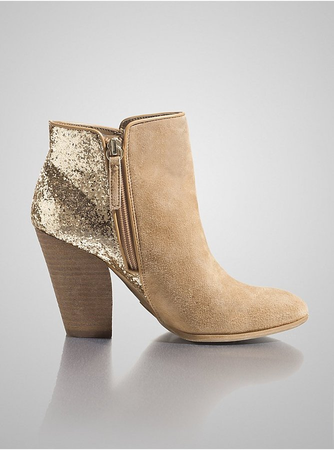 GUESS Cardio Suede Booties