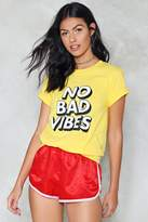 Nasty Gal nastygal No Bad Vibes Tee