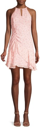 Parker Sherry Floral Tiered Ruffle Dress