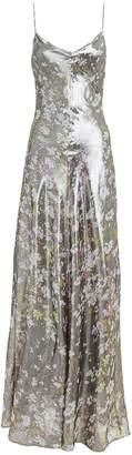 Ganni Floral Lurex Gown