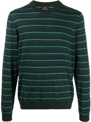Paul Smith Long Sleeved Striped Pullover