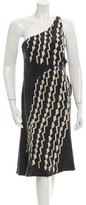 Giorgio Armani Printed Silk Dress
