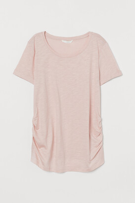 H&M MAMA Cotton-blend T-shirt