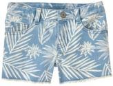 Crazy 8 Palm Jean Shorts