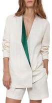 Akris Women's Satin Lapel Jacket