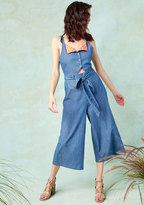ModCloth Cafe Character Jumpsuit in 4X