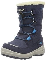 Viking Unisex Kids' Totak Snow Boots Blue Size: