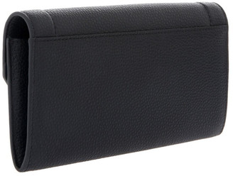 Lancel Ninon Flap-Over Wallet in Black