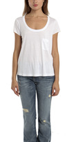 A.L.C. Classic Pocket Tee in White