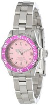 Invicta Women's 14098 Pro Diver Pink Dial Stainless Steel Watch
