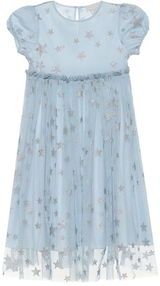 Stella McCartney Kids Printed tulle dress