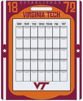 Virginia Tech Hokies Dry Erase Calendar