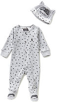Joules Newborn-9 Months Pride Raccoon Printed Footed Coverall & Hat Set