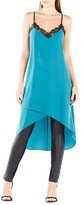 BCBGMAXAZRIA Astrella Asymmetric Draped Slip Dress