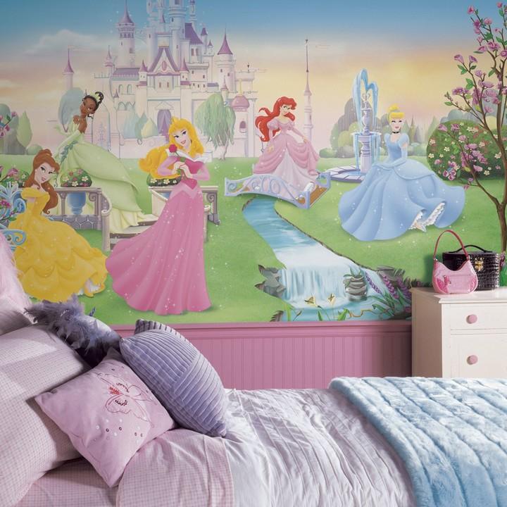 Mural Roommates Disney Dancing Princess Wallpaper