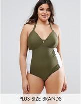 Junarose Color Block Swimsuit