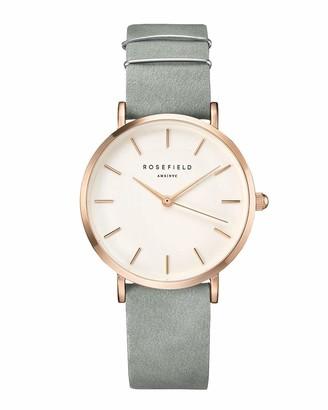 ROSEFIELD Women's Digital Watch with Leather Bracelet WMGR-W74