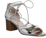 Office Modernist Ghillie Block Heel Sandals