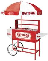 Nostalgia Electrics NostalgiaTM Electrics Large Hot Dog Cart with Umbrella