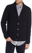 Sand Men's Shawl Collar Button Cardigan