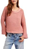 Free People Maybe Baby Bell Sleeve Sweater