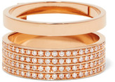 Repossi Berbère 18-karat Rose Gold Diamond Ring - 54