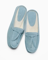 Soma Intimates Greenwich Slippers Blue