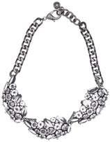 Lulu Frost Diamanda Leaf Collar Necklace